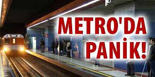 Metroda Karşıt Görüşlü Gençler Silahlı Kavga Etti