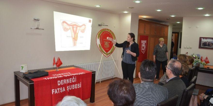 "Fatsa'da ""kadın sağlığı"" konferansı"