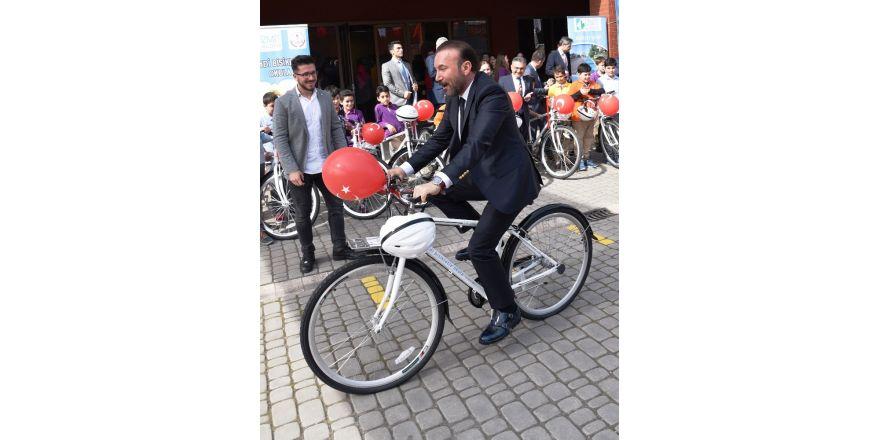 İzmitli muhabirler bisikletlerine kavuşuyor