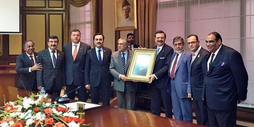 Bektaş, Pakistan'da ECO -CCI'nin 22. Yürütme Kurulu toplantısına katıldı