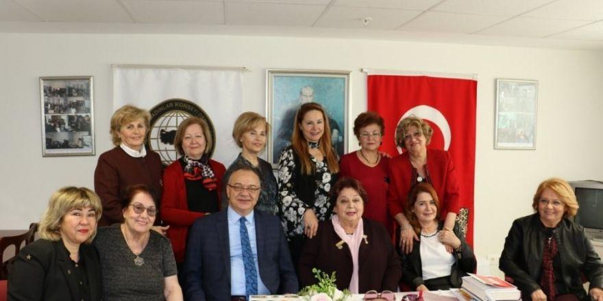 Başkan Ergün yatırımları kadınlara anlattı