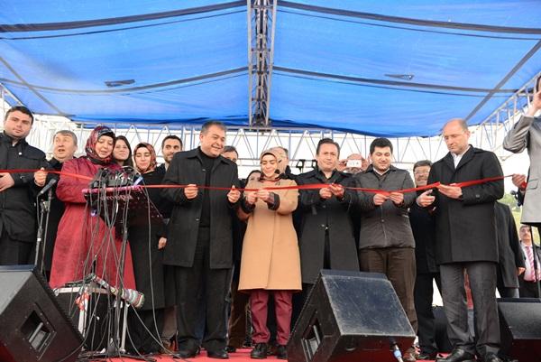 Tuzlaya Türkiye'nin en fonksiyonel parkı