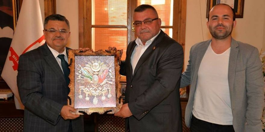 Mustafa Kemal Paşa Muhtarlar Derneği Başkanı Kahraman'dan Başkan Yağcı'ya ziyaret