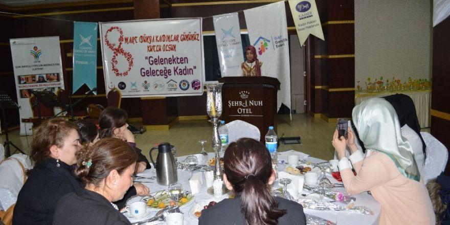 Şırnak'ta 8 Mart Dünya Kadınlar Günü programı düzenlendi