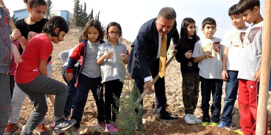 """Başkan Tuna: """"13 yılda ilçemize 500 bin ağaç diktik"""""""