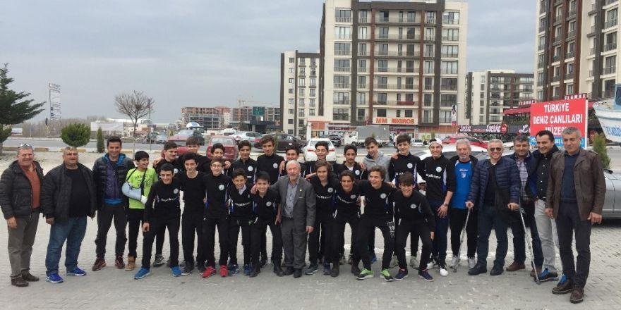 Genç şampiyonlara balık dopingi