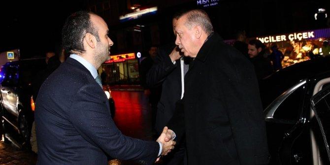 Cumhurbaşkanı Erdoğan, ziyaret sözü verdiği restoranda yemek yedi
