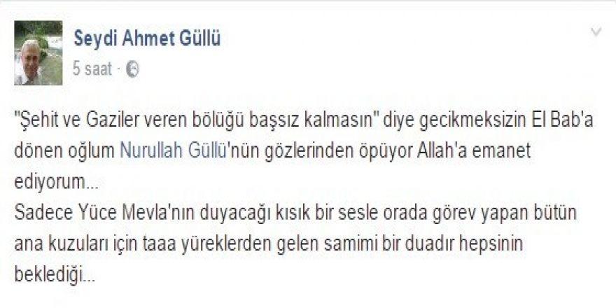Doktor babanın görev yerine dönen gazi oğluna duası 'Seni Allah'a emanet ediyorum'