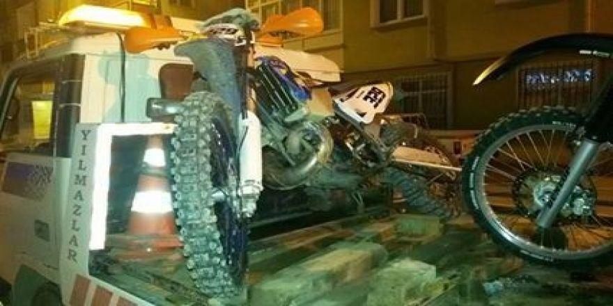 Ordu'da gürültü yapan motosiklete af yok
