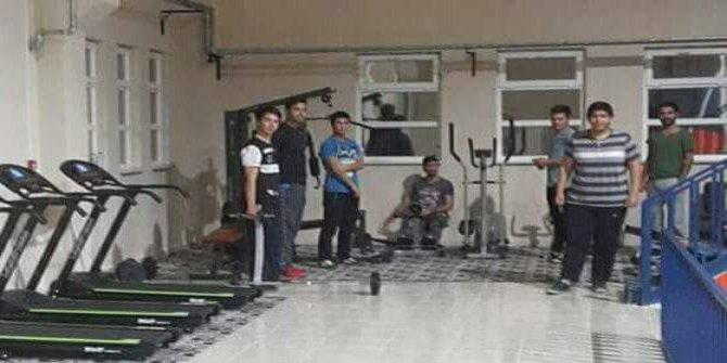 Şaphane'de spor kursları sona erdi