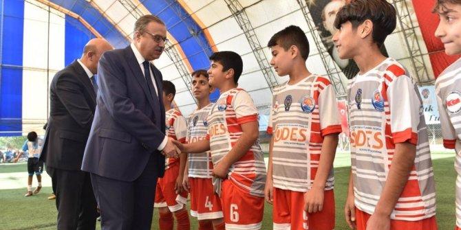 """""""Çocuk Polisi Futbol Turnuvası"""" başladı"""