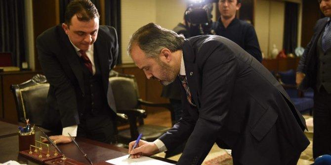 Cumhurbaşkanı Erdoğan'a Başkan Aktaş'tan çok özel dosya...