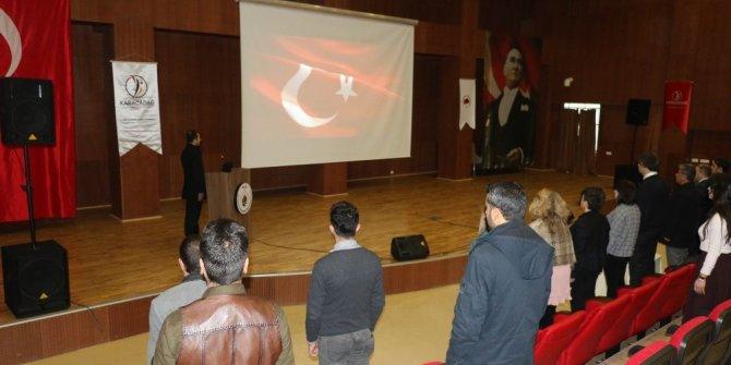 Rehber öğretmenlere intihar ve intiharı önleme semineri