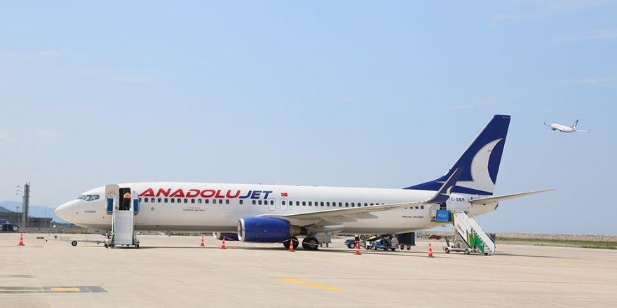 Ordu-Giresun Havalimanında yolcu sayısı artıyor