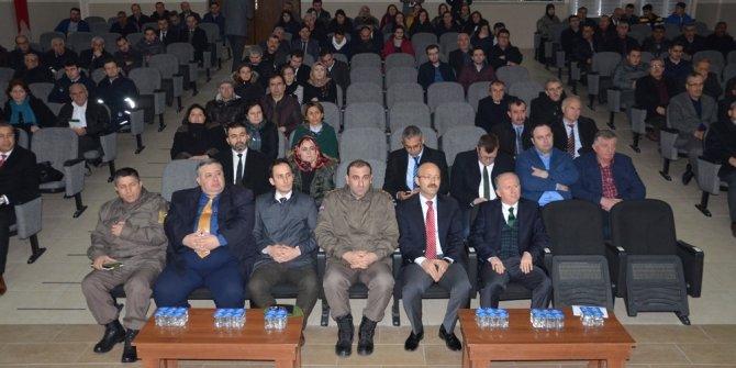 Hayrabolu'da bağımlılıkla mücadele semineri düzenlendi
