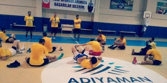 Adıyaman Belediye Hentbolspor sezonun ikinci yarısına hazırlanıyor