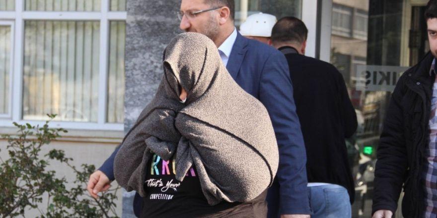 Samsun'da cüzdan hırsızlığı zanlısı kadın yakalandı