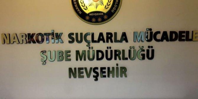 Nevşehir'de 150 adet uyuşturucu hap ele geçirildi