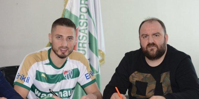 Bursaspor Grozav'ı açıkladı
