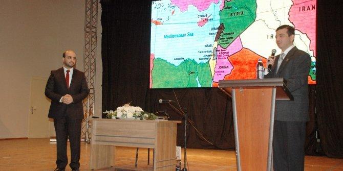 "Çorlu'da ""Özgür Kudüs"" konferansı"