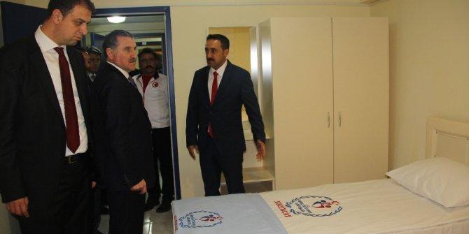Erzincan'a Sporcu Kamp Eğitim Merkezi açıldı