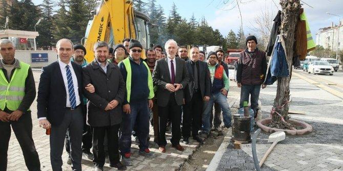 Başkan Saraçoğlu: Daha güzel bir Kütahya için çalışıyoruz