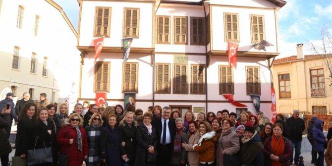 Kırklarelililer Atatürk Evi'ni birlikte açtı
