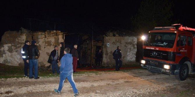 Yenişehir'de korkutan yangın