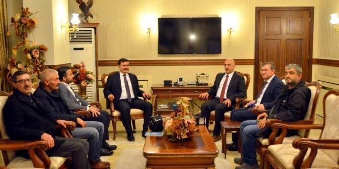 Basın-Yayın ve Enformasyon Genel Müdürlüğü'nden Vali Arslantaş'a ziyaret