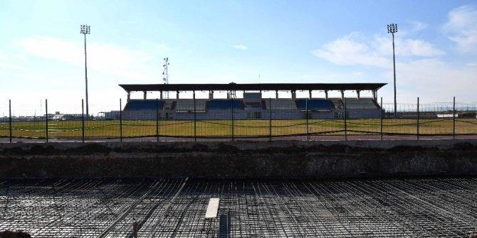 Adıyaman Üniversitesi Stadyumuna ikinci tribün yapılıyor