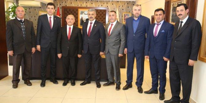 Niğde Şoförler Odasından Belediye Başkanı Özkan'a ziyaret