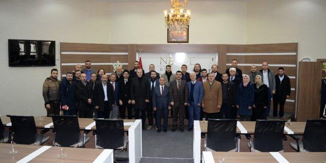 AK Parti Niğde İl Yönetiminden Belediye Başkanına ziyaret