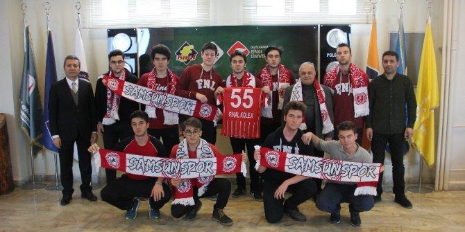 Final'den Samsunspor'a destek