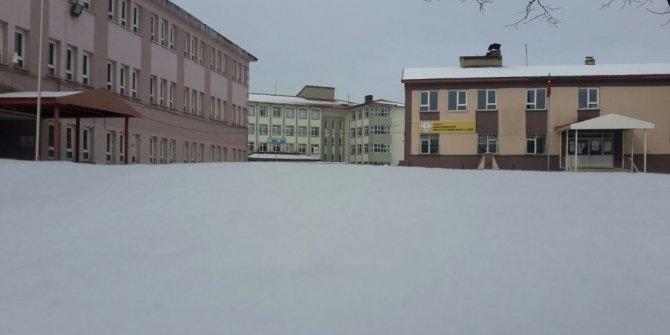 Taşımalı sisteme kar engeli