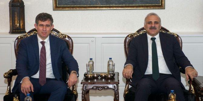 Metin Feyzioğlu'ndan Vali Zorluoğlu'na ziyaret