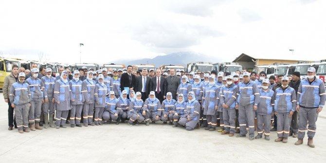 Pamukkale'de, 103 bin 497 ton katı atık toplandı