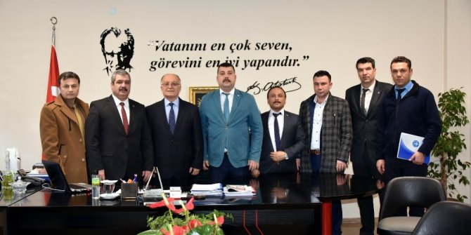 Salihli Belediyesi'nde sosyal denge sözleşmesi görüşüldü