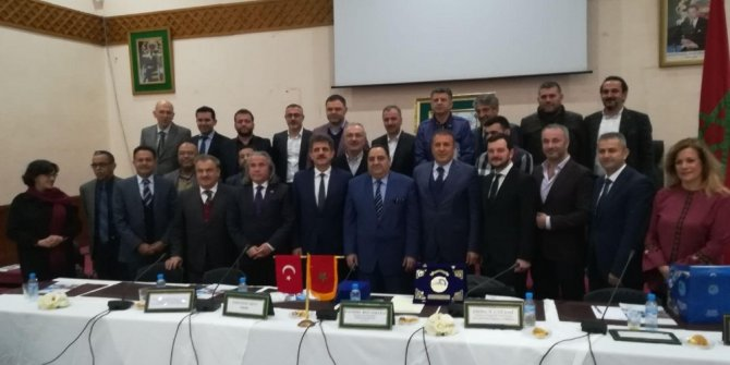 Trabzonlu sanayicilere Fas Morali