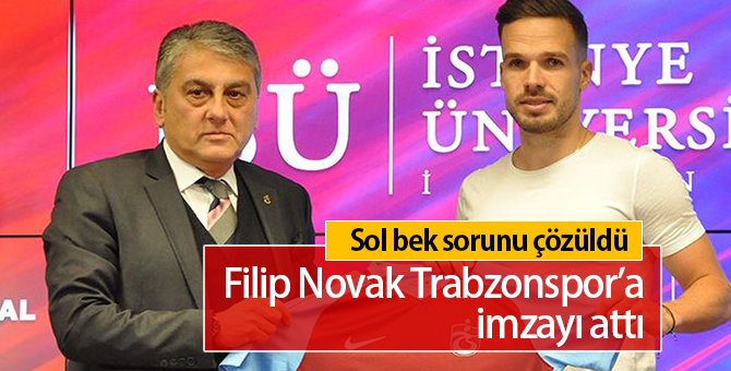 Filip Novak Kimdir | Trabzonspor'a İmzayı Attı