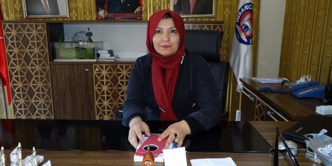 Hisarcık Belediyesi'ne kadın eli değdi