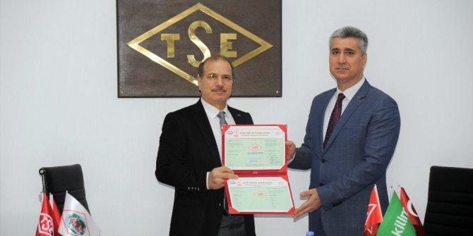 TSE'den Kilim Mobilya'ya 'Çevre Yönetim Sistem Belgesi'