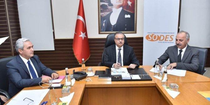 Mersin'de SODES projelerinin finansman sözleşmeleri imzalandı