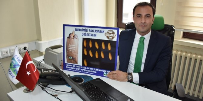 """Reşadiye'de """"Askıda Ekmek"""" kampanyası"""