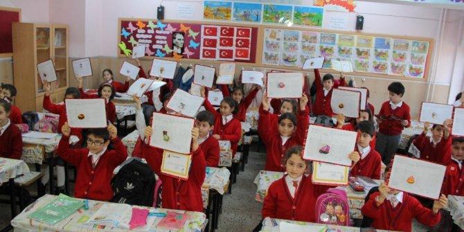 Çorum'da 94 bin 534 öğrenci karne aldı