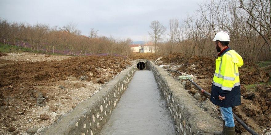 Gölkent'in yağmur suyu sorunu çözüme kavuşturuldu