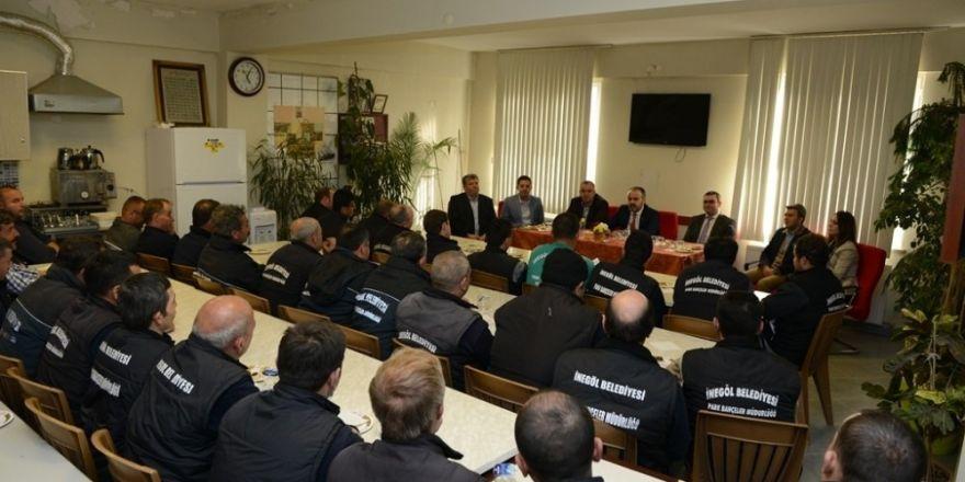 Aktaş Park Bahçeler Müdürlüğü personeli ile buluştu