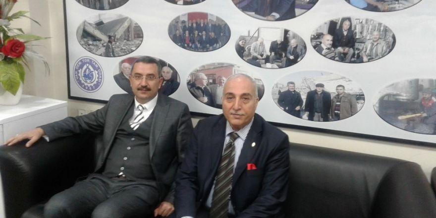 Müdür Göksoy'dan Başkan Karael'e ziyaret