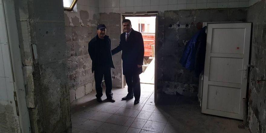 Pazaryeri'nde Yeni Mahalle Camii yenileniyor