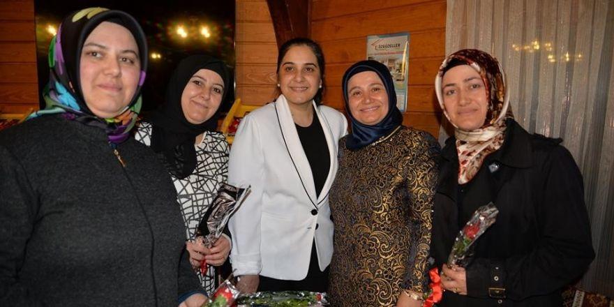 Başkan Yağcı, Haymeana Sultan Evinde kadınlarla bir araya geldi