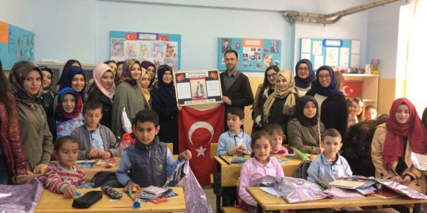 """Üniversite öğrencilerinden """"Şehit Kaymakam Muhammet Fatih Safitürk"""" projesi"""